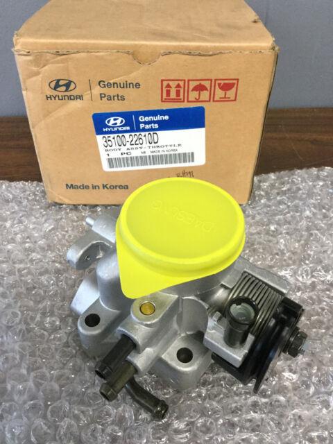 NEW OEM Genuine Hyundai Throttle Body 35100-22610D 3510022610D