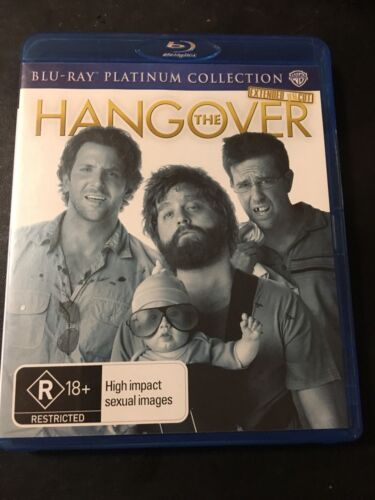 1 of 1 - The Hangover (Blu-ray, 2010) Extended Uncut Region B