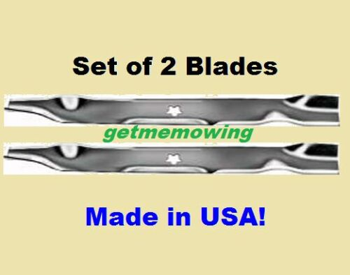 """2 Mulching Blades For 42/"""" AYP Sears 134149 532134149"""