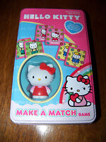 Hello Kitty Make A Match Game In Collector Tin