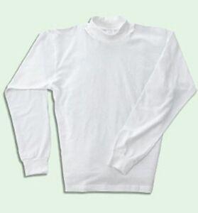 Tall mens mock turtle neck shirt medium to 6xlt ebay for Mens medium tall shirts