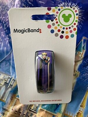2019 Disney Parks Snow White Evil Queen Old Hag Magicband Magic Band In Hand