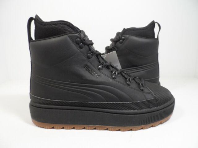 eb855155bd6 Puma Men's The Ren Leather Boot Black Size 9