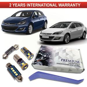 OPEL-Astra-J-Led-Interior-Premium-Kit-ERROR-FREE-BLANCO-XENON-CANBUS-Opel