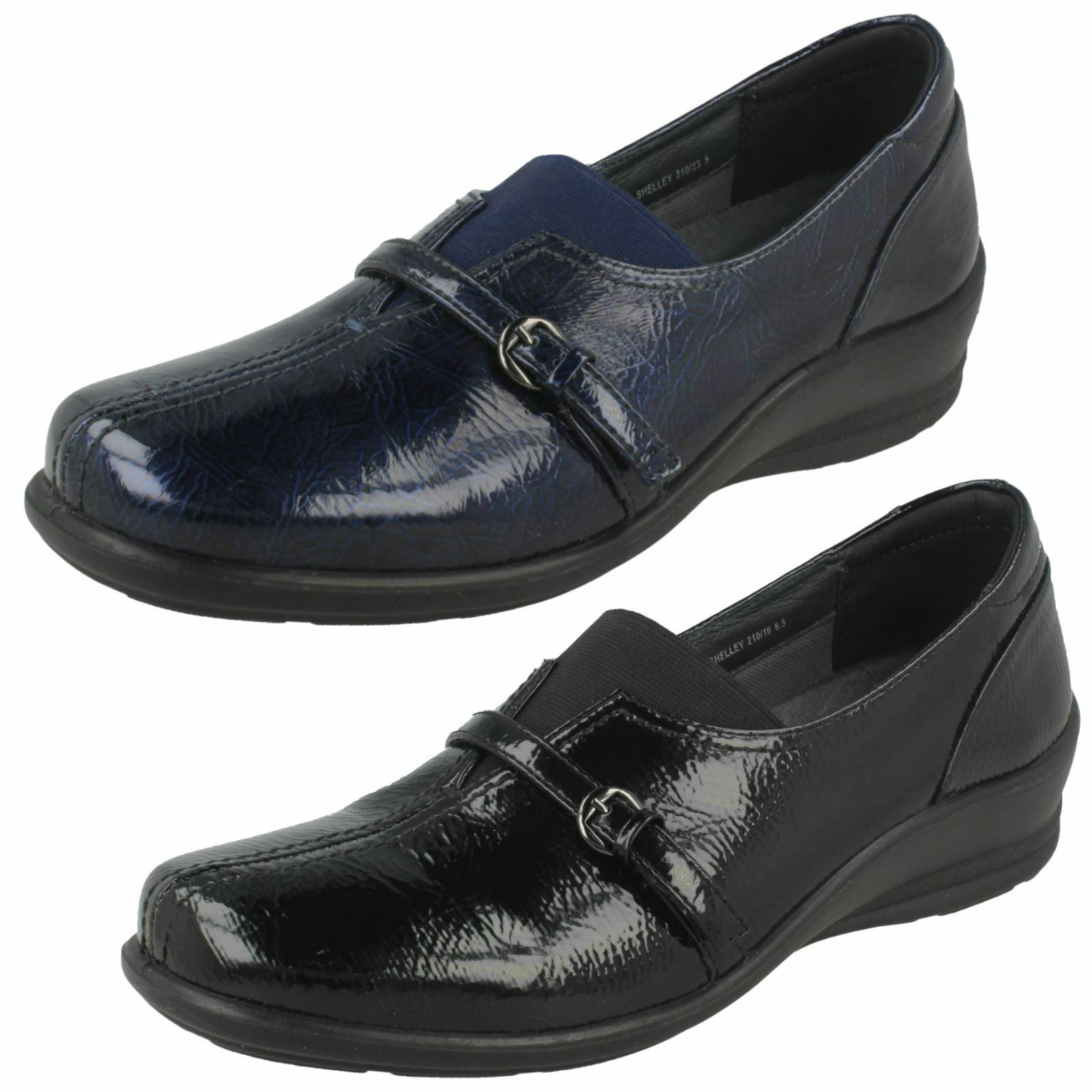 online al miglior prezzo Ladies Padders Dual Dual Dual Fit System confort Flats-Shelley  nessun minimo