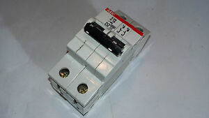 Abb S 252 C 10 10 A Magnetotermico Circuit Breaker 2 Polos