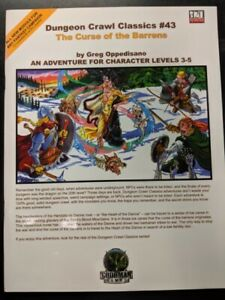 1x-Dungeon-Crawl-Classics-43-the-Curse-of-the-Barrens-Used-Fine-dungeon-crawl