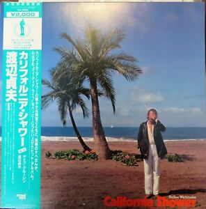 Sadao Watanabe: California Shower (VIJ-4003). Jazz LP - Japan. Vinyl / OBI NM
