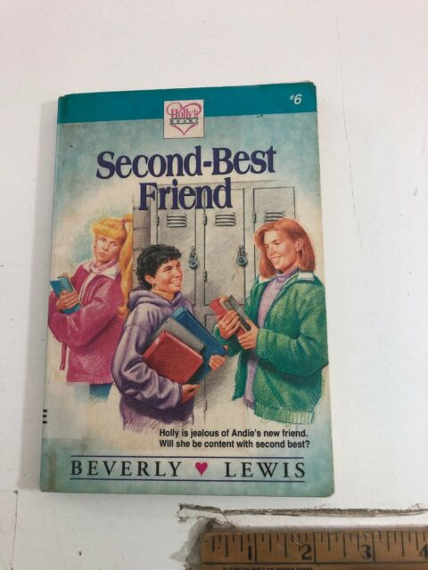 Holly's Heart: Second-Best Friend Bk. 6 - Beverly Lewis (1994, Paperback) Ex-Lib