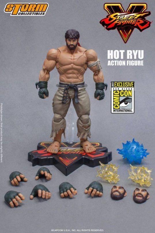 SDCC 2017  1 12 rue Fighter Hot Ryu Action Figure Storm Collectibles  trouvez votre favori ici