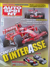 AUTOSPRINT n°3 2008 Ferrari 2008 - Toyota TF108 BMW F1.08   [P67]