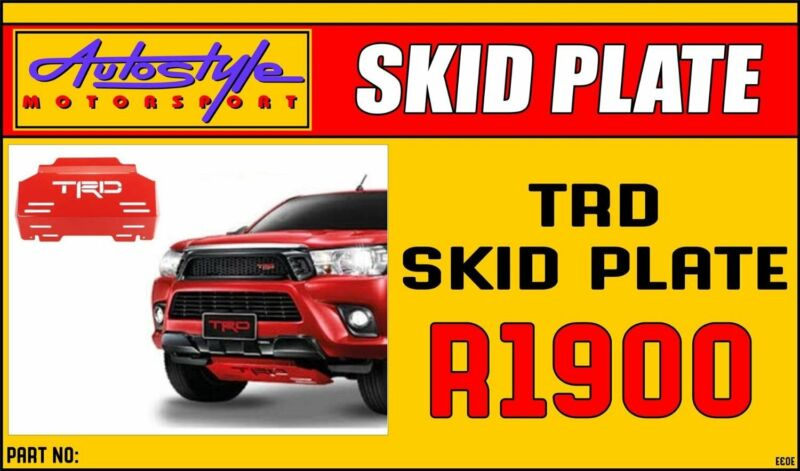 Toyota Hilux, Revo, etc Skid protective underplate R1900. clearance last piece at our Centurion stor