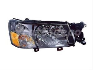 Image Is Loading 03 04 2003 2004 Subaru Forester Headlight W