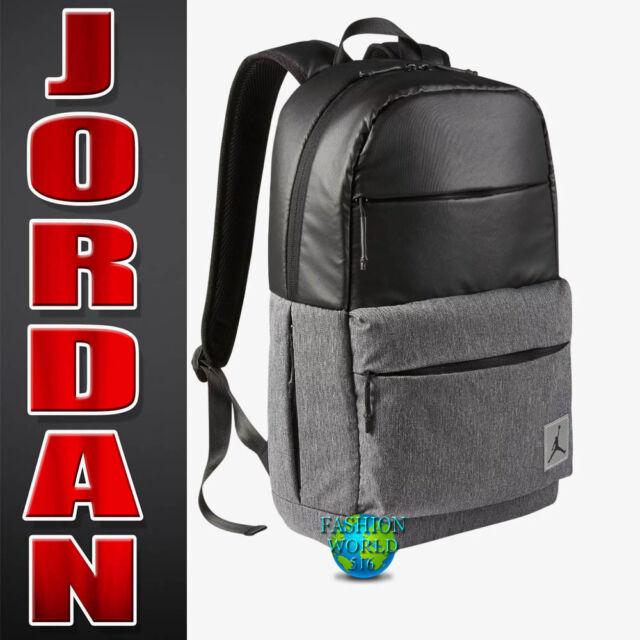 a069df2872f973 Nike Air Jordan Pivot Laptop Backpack Black Grey 9b0013 023. +.  48.99Brand  New