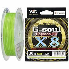 YGK G-Soul X4 Upgrade PE Green 150m Geflochtene Schnüre Made in Japan