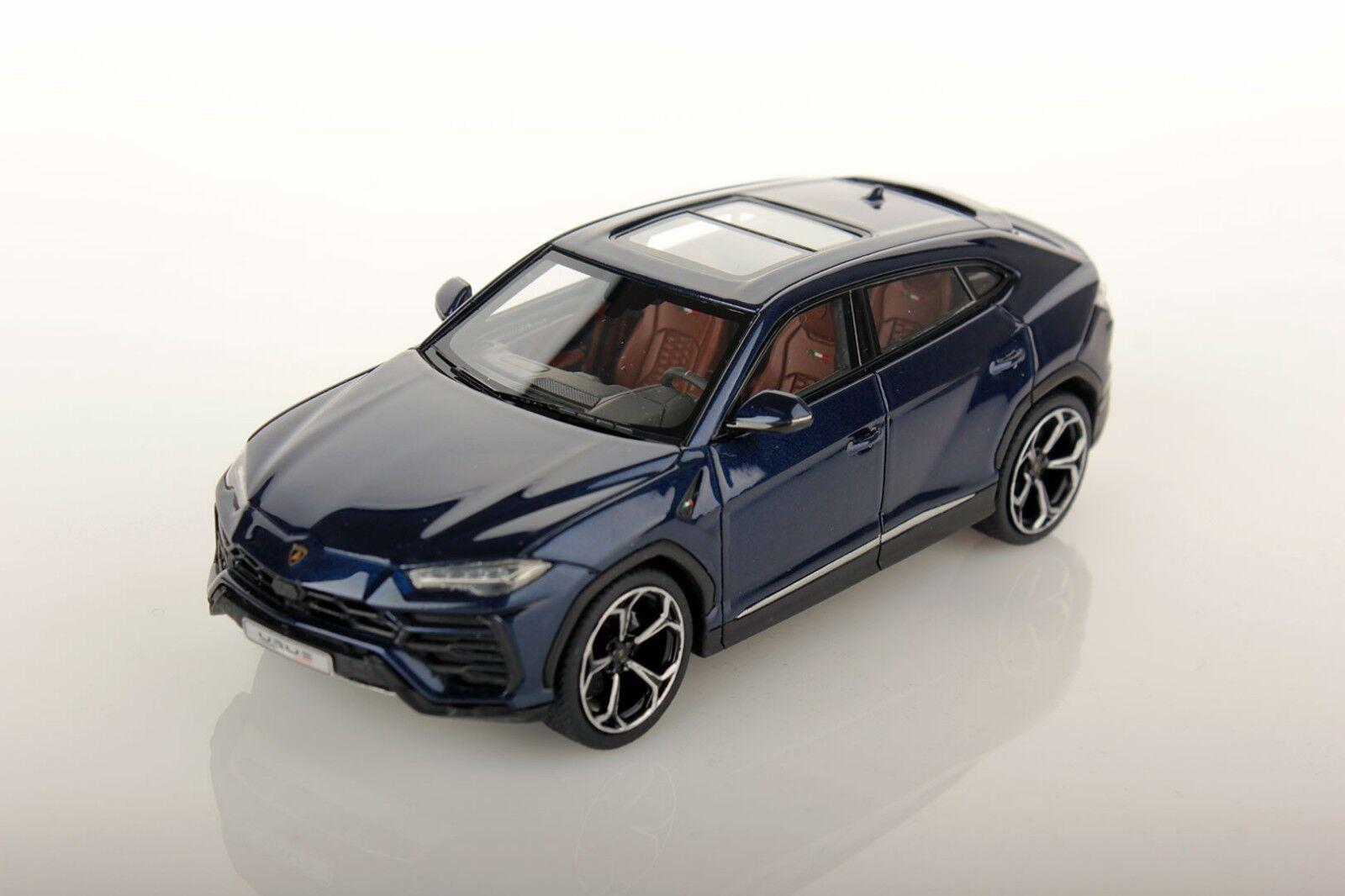 Look Smart 1 43 Lamborghini Urus Blu Astreaus blu RESIN REPLICA LS484D