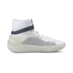 Puma Men's Sky Modern Puma White/Peacoat Basketball Shoes 19404201 NEW!