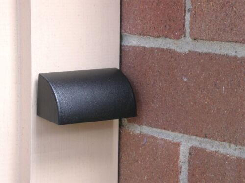 AQL-520-BK Aqualux Black Finish Brass Rectangular Wall//Steplight 24V-12V 4W LED