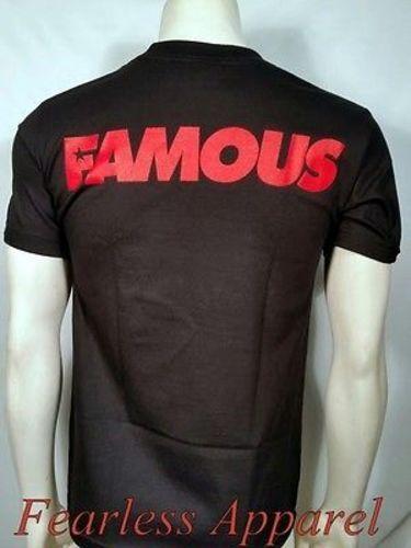 Famous Stars /& Straps Disturbing The Police Rocker Skull Punk T Shirt S-2Xl