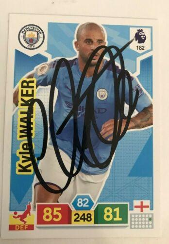 Match Attax 19//20 Kyle Walker Manchester City signé dédicacé