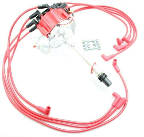 HEI Distributor Coil Spark Plug Wires Small Block Chevy 305 307 327 350 400 V8