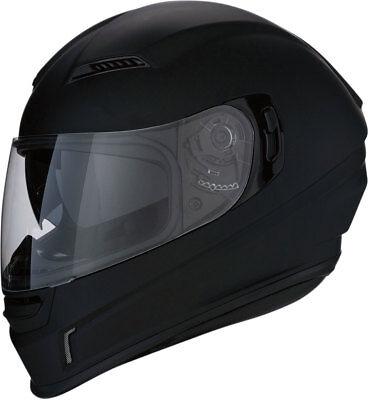 Flat Black Z1R Strike OPS SV Full-Face Helmet w// Drop-Down Sun Visor