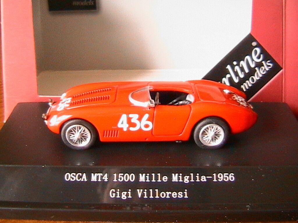 OSCA MT4  436 1500 MILLE MIGLIA 1956 GIGI VILLORESI STARLINE 540315 1 43 rouge