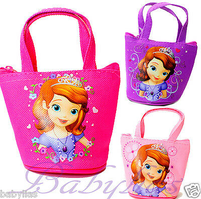 12 PCS Princess Sofia The First Candy Bags Mini Coin Purse Disney Party Favors