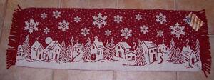 Invierno-Pueblo-Navidad-Escena-tapiz-camino-de-mesa