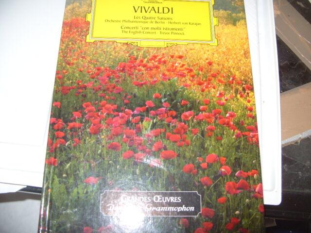 les grandes oeuvres ,Vivaldi , 2 CD les 4 saisons..