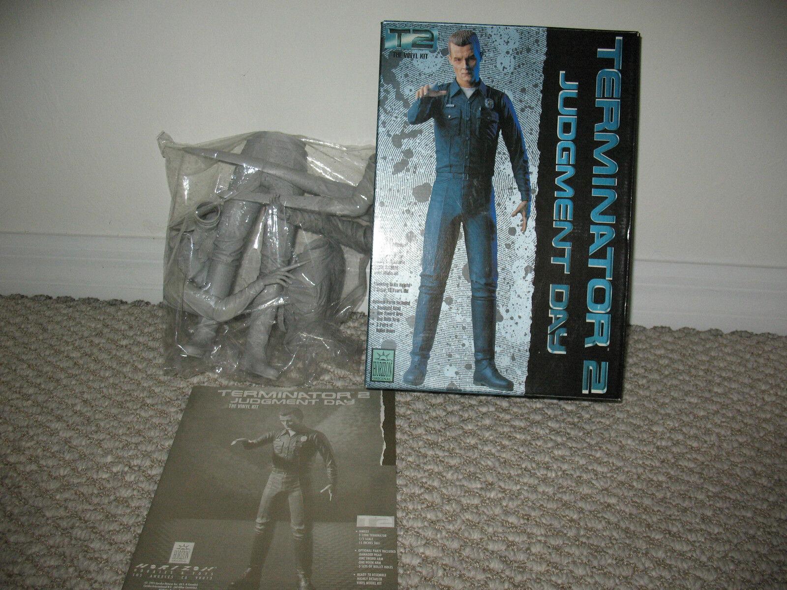 Terminator 2 Judgment Day Day Day T-1000 Vinyl Horizon Model Kit MINT Unbuilt LOOK f2ffde