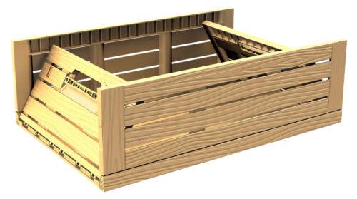 10 PZ SCATOLA verdure kartoffelbox casse di vino 600 x 400 x 218 mm klappbox gastlando