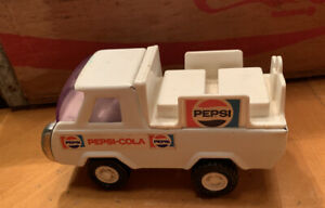 Vintage-Buddy-L-Pepsi-Cola-Truck-1970-039-s-Delivery-Truck-Pressed-Steel