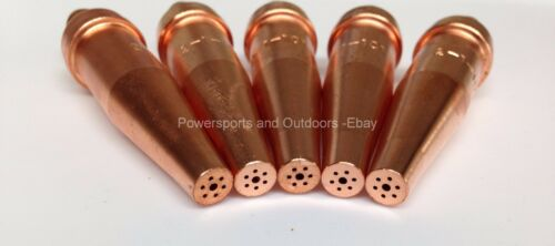 Victor Type HD 300 Series 5pcs #1101-2 Oxygen//Acetylene Cutting Torch Tips