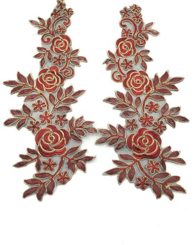 Various Colours flower bridal embroidery wedding  patch lace motif applique