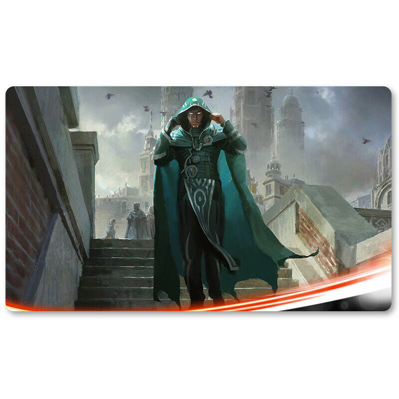 Jace Beleren - Board Game MTG Playmat Games Mousepad Ta