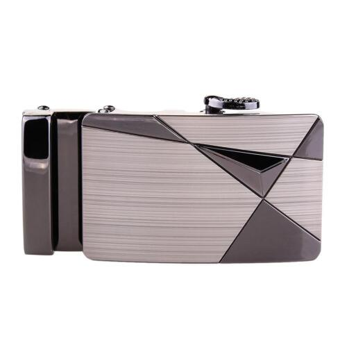 Luxury Leather Men Automatic Belt Buckle Fashion NO Waist Belt Waistband A303 GA