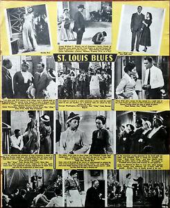 St-Louis-Blues-Nat-King-Cole-Eartha-Kitt-Cab-Calloway-Vintage-Photo-Story-1958
