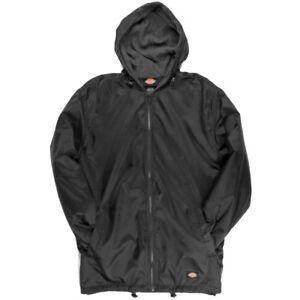 Dickies-Fleece-Lined-Nylon-Hooded-Windbreaker-Men-039-s-Zip-Up-Jacket-Style-33237