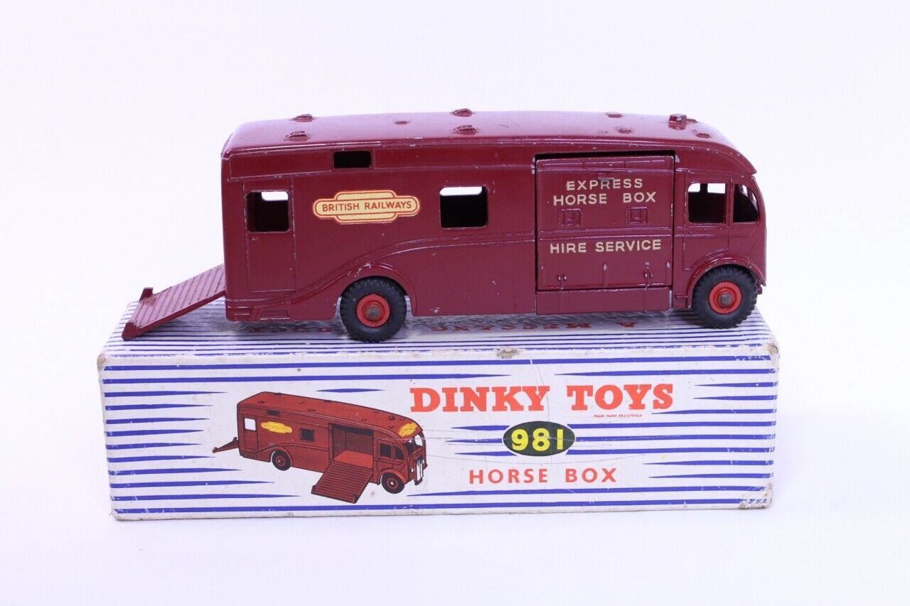 descuento de bajo precio Dinky  981 - BR BR BR Caballo Caja-Granate-B B  bienvenido a orden