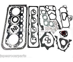 Convient Nissan Elgrand 3.2 TD QD32 97-00 MOTEUR Tête Cylindre Complet Jeu Joints D/'étanchéité