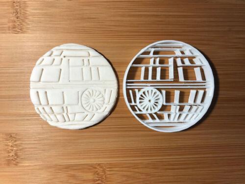 L/'étoile de la Mort Star Wars Vendeur Britannique Biscuit Cookie Cutter Fondant Décoration Gâteau