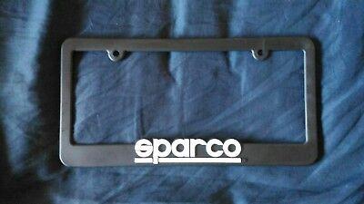 Sparco SP099FRAME Plastic License Plate Frame