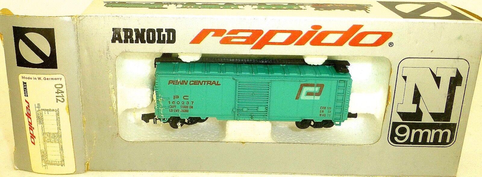 Penn central türkis güterwagen Arnold rapido 0412 ovp HU3 å
