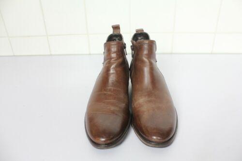 Esprit 5 Elegant Eu Leather Brown Stivali Used Boots 38 Genuine 38 UrRwaUx