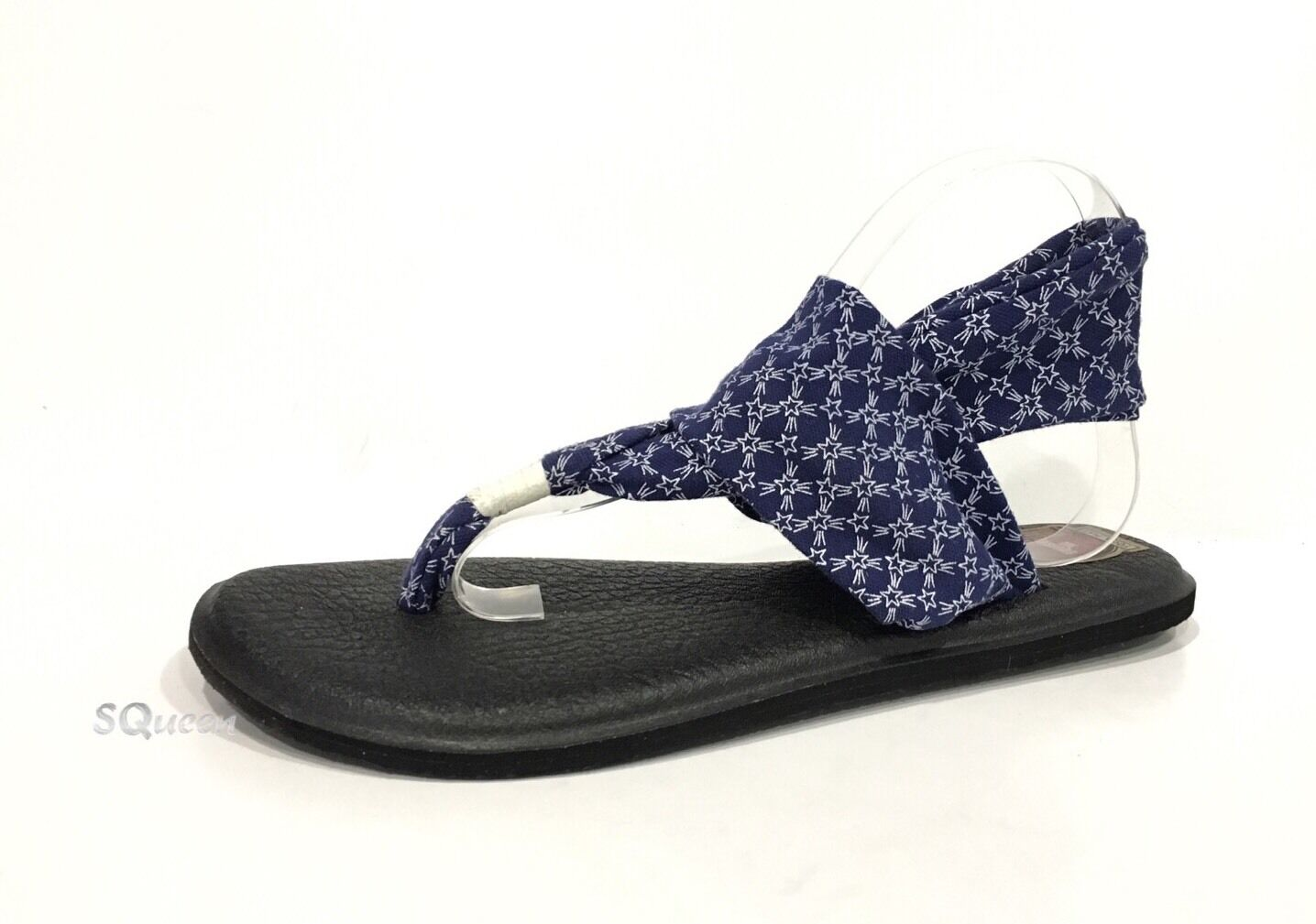 0727e26db97a Sanuk Women s Yoga Sling Patriot Sandals Blue Stars 11 US   42 EUR ...