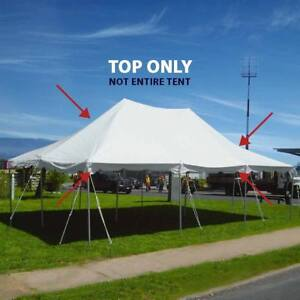 20 X30 Pole Tent Replacement Canopy Top 16 Oz Block Out