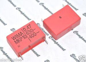 WIMA MKS4 4.7uF 250V 5/% pitch:27.5mm Capacitor 2pcs 4.7µF 4,7uF
