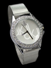 New Unique Attractive Designer Silver Color Wrist Watch for Girls & Women .!!