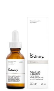 The Ordinary Retinol Serum 0.5% in Squalane 30ml/1oz  Shipping Worldwide